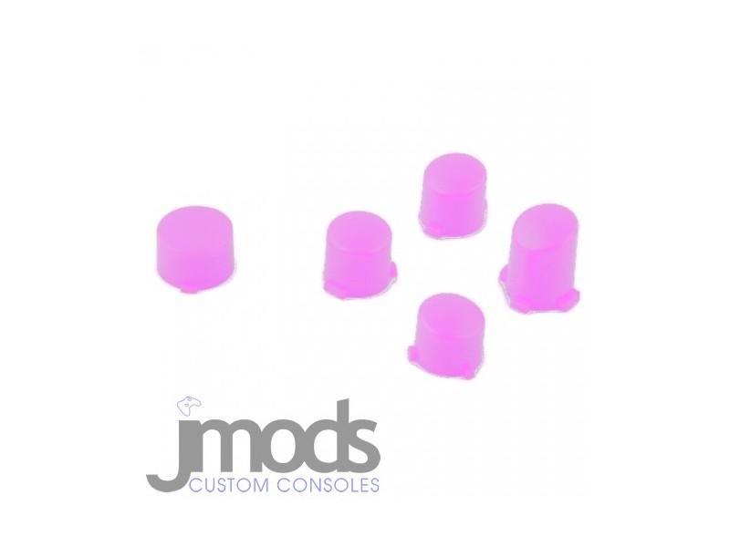 Xbox One 1 Custom ABXY & Guide Buttons Mod Kit (Matt Pink