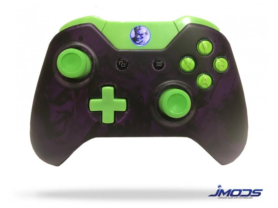 Xbox One Custom Controller (Joker Purple) - Jmods Custom