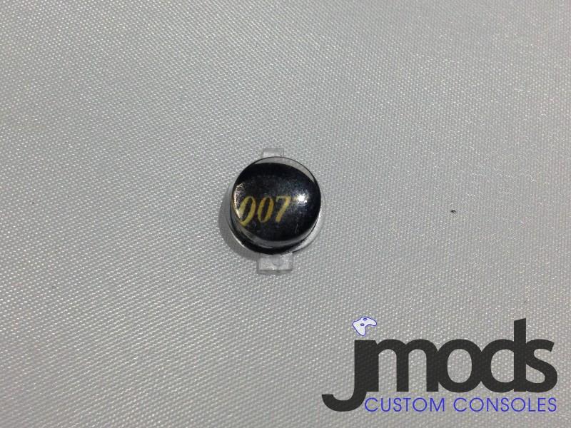 PS3 Custom Home Button (James Bond: 007 Black)