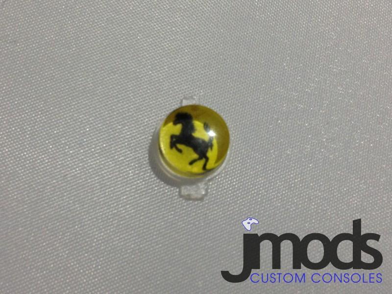 PS3 Custom Home Button (Ferrari)